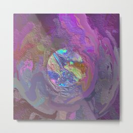 Abstract Mandala 213 Metal Print