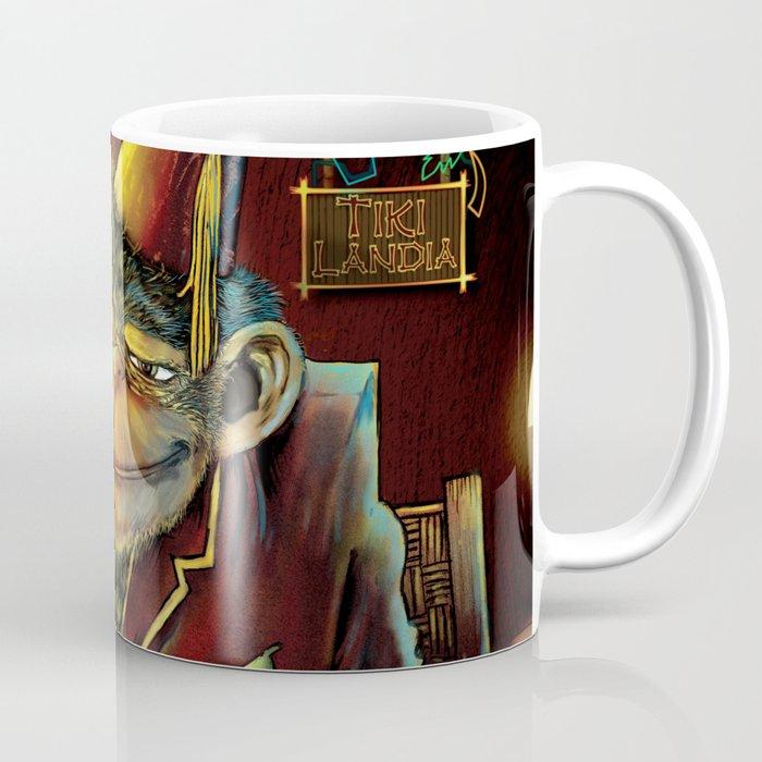 Last Call At Tikilandia Coffee Mug