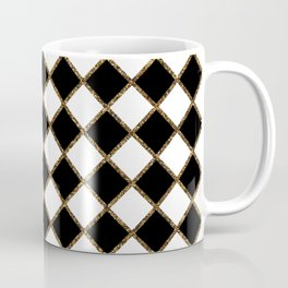 Geometric ornament gold seamless pattern Coffee Mug