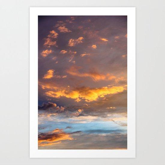 Heavenly Awakening Art Print