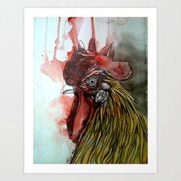 Roosting Art Print