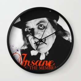 London After Midnight Wall Clock