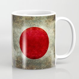 National flag of Japan - Super Grunge Coffee Mug