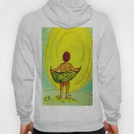 Toweling at the Moon Hoody