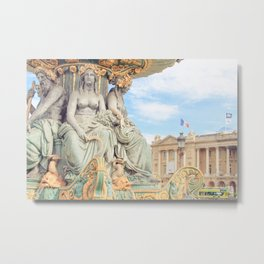 Concorde - Paris Metal Print