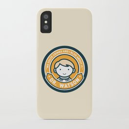 Cute John Watson - Orange iPhone Case