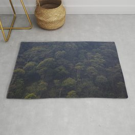 deep forest in the north of vietnam Rug