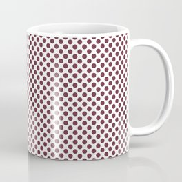 Tawny Port Polka Dots Coffee Mug