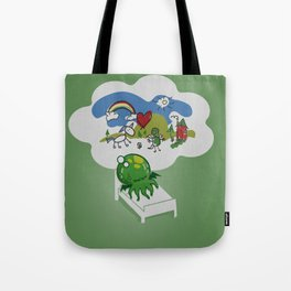 Unspeakable Nightmare Tote Bag