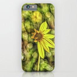 Things fall apart, beautifully. iPhone Case