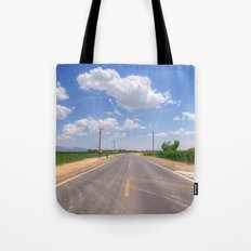 Lonesome Road Tote Bag