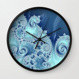 Liquid Mandelbrot Wall Clock