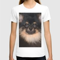 pomeranian T-shirts featuring Pomeranian by Pancho the Macho