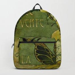 Absinthe La Fee Verte Backpack