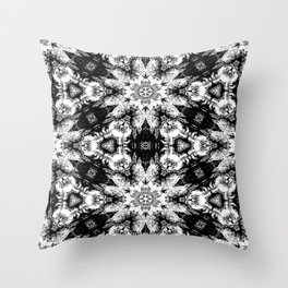 Rorschach Test Pattern Throw Pillow