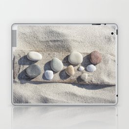 Beach pebble driftwood still life Laptop & iPad Skin