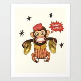 Magic Monkey Art Print
