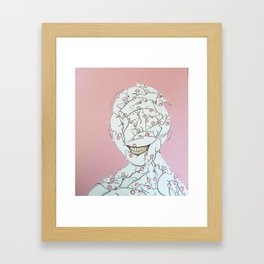 The Distractor Framed Art Print