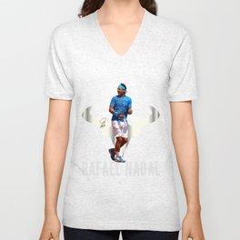 Rafa Nadal Spain. Unisex V-Neck