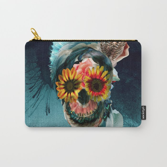 Skull Women Carry-All Pouch
