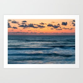Ten Mile Sunset Art Print