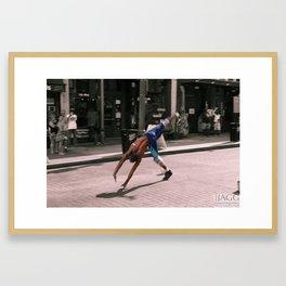 Downtown Memphis - Beale Street Flipper Framed Art Print