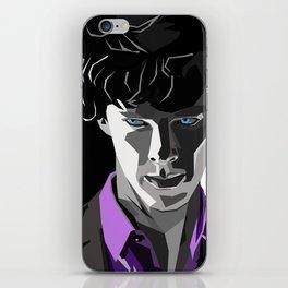 Sherlock Holmes Portrait iPhone Skin
