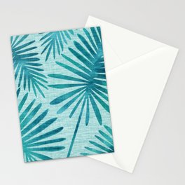 Mid Century Tiki Fronds Stationery Cards
