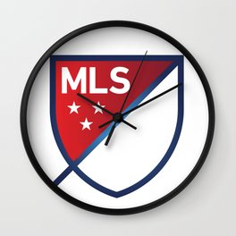 MLS LOGO Wall Clock