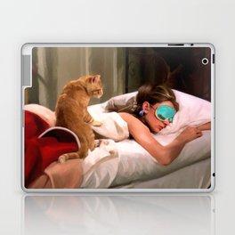 Audrey Hepburn #4 @ Breakfast at Tiffany's Laptop & iPad Skin