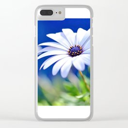 Happy White Daisy  by Kaye Menner Clear iPhone Case