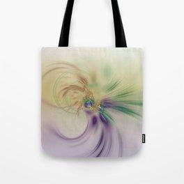 Fall Festive Fractal Tote Bag