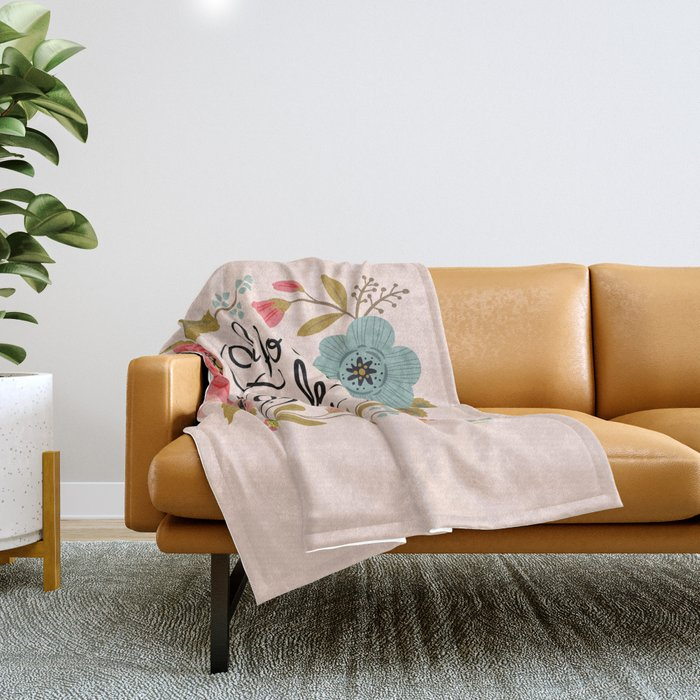 Pretty Swe*ry: Oh For F's Sake Throw Blanket