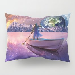Sailing Away To The New World, From The Darkness To The Light Pillow Sham