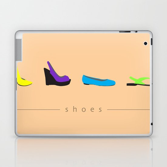 Shoes Laptop & iPad Skin