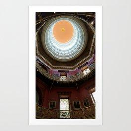 New Jersey's Capital Dome - Interior Art Print