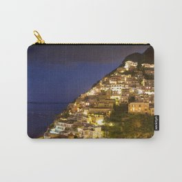 Nighttime In Positano Italy Carry-All Pouch