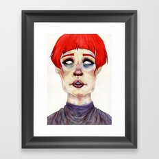 Riza Framed Art Print