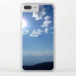 California into Nevada view Clear iPhone Case