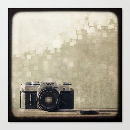 film camera  Canvas Print