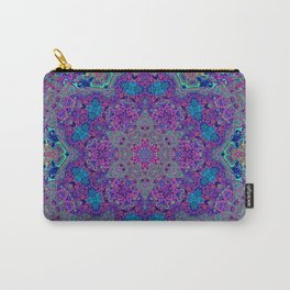 Oil Spill to Flower Carry-All Pouch