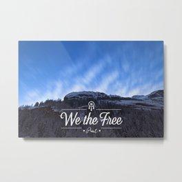 Mountain Sky Wethefree Metal Print
