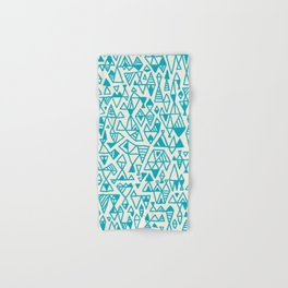 Abstract geometric pattern I Hand & Bath Towel