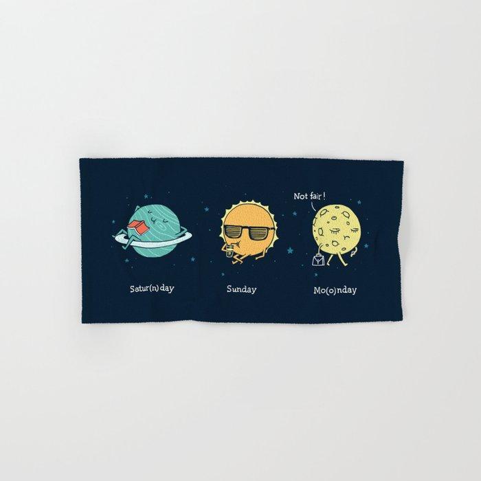 Moonday Hand & Bath Towel
