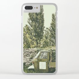 Italian country life Clear iPhone Case