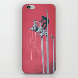 Drooling Machine iPhone Skin