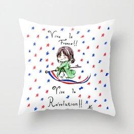 Vive la Révolution! Throw Pillow