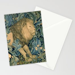 "William Morris ""Forest - Lion"" Stationery Cards"
