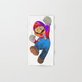 Mario Hand & Bath Towel