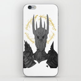 Sauron Black Speech iPhone Skin